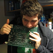 Thumbs up to scorched PCBs!
