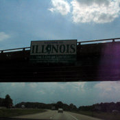 Illinois. Also, my CCD is wigging out.