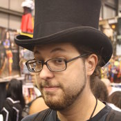 Darrell bought a sweet-ass tophat.