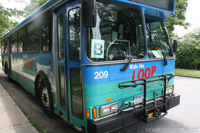 B for Bus