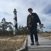 Lauren and Cape Lookout Lighthouse