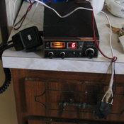 I rig a CB radio to actually function