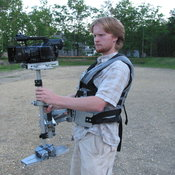 The ROFLcam, as we can't legally call it a Steadicam.