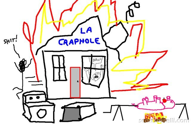 Chase's Craphole - An MS Paint Masterpiece