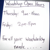 For all your woodworking needs...