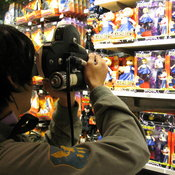 "Filming inside a Toys ""R"" Us"