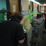 Shopping Cart Jousting 2