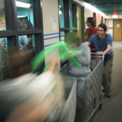 Shopping Cart Jousting 3