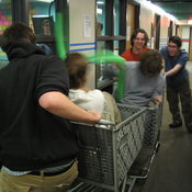 Shopping Cart Jousting 5