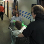 Shopping Cart Jousting 7